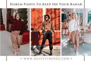 how to wear harem pants
