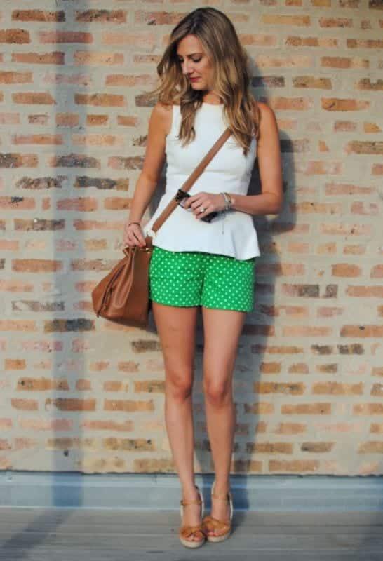 how to wear peplum tops in summers