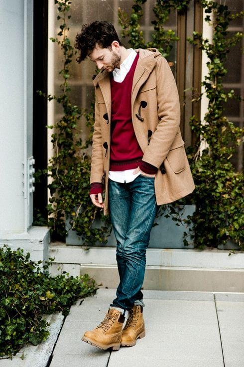 male outfits with timberland shoes11
