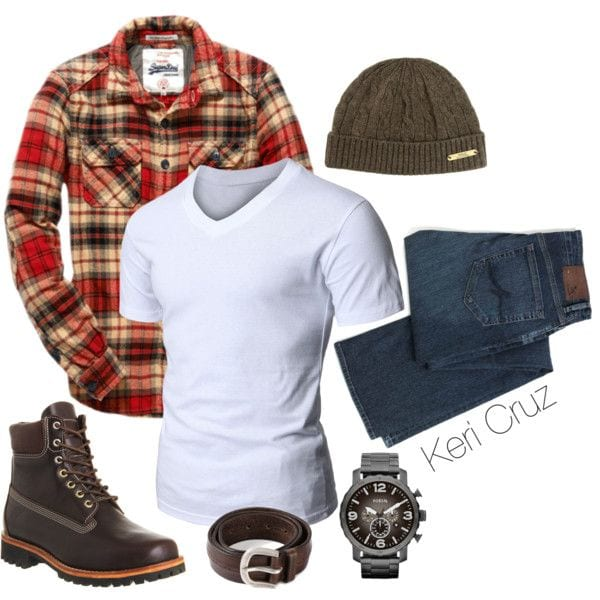 Men Timberland Outfits-14 Ideas How To Wear Timberlands Shoes