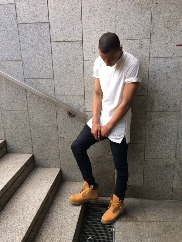 male outfits with timberland shoes9