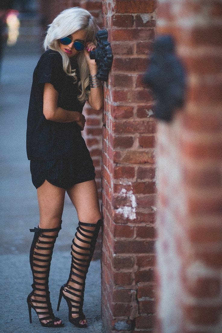 16 Cute Outfits To Wear With Gladiator Heels/Sandals This ...