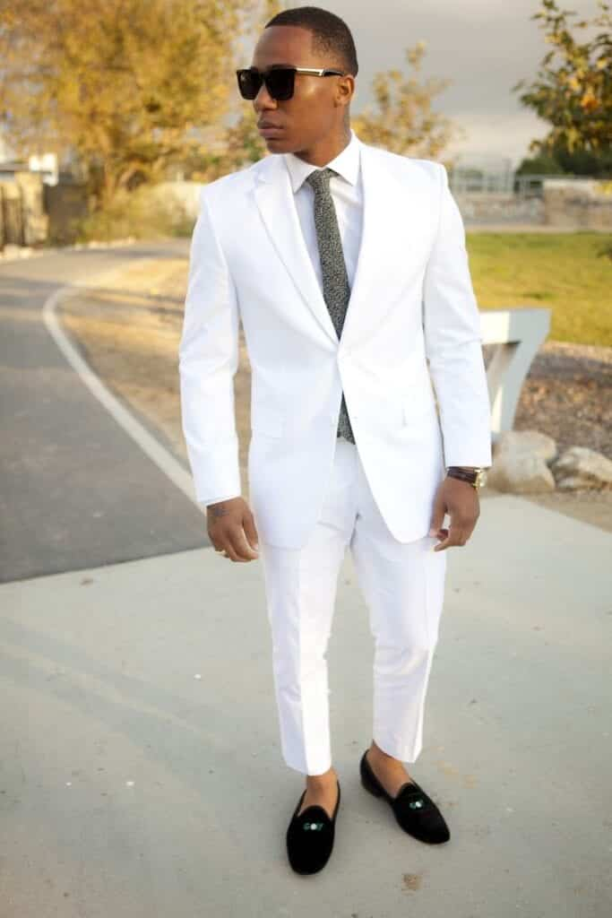 15 Ideal White Party Outfit Ideas For Men Handsome Look