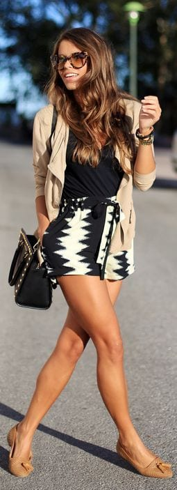cute outfits to wear with loafers 11