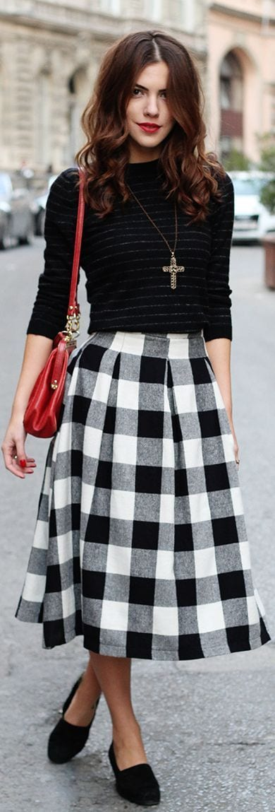 cute outfits to wear with loafers 13