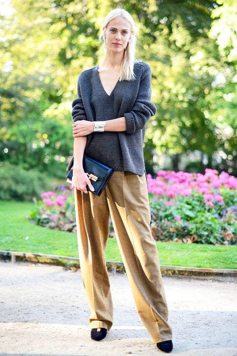 cute outfits to wear with loafers 15