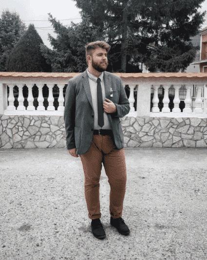 khaki pants for plus size men