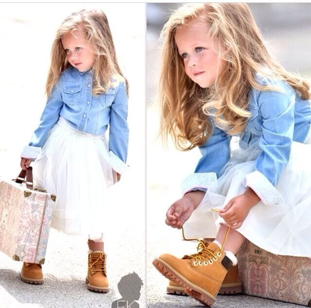 Kids Timberland Outfits 15 Cute Wearing Shoes