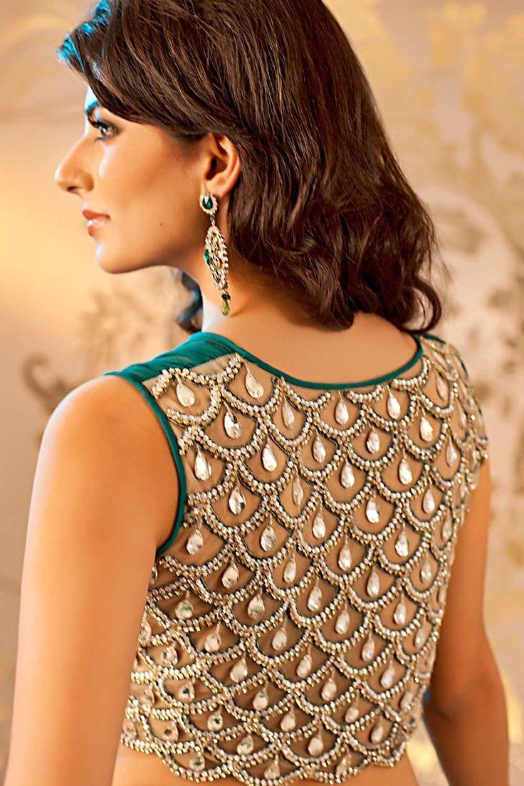 saree blouse design5