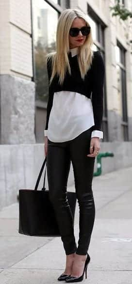women outfit with white shirt13