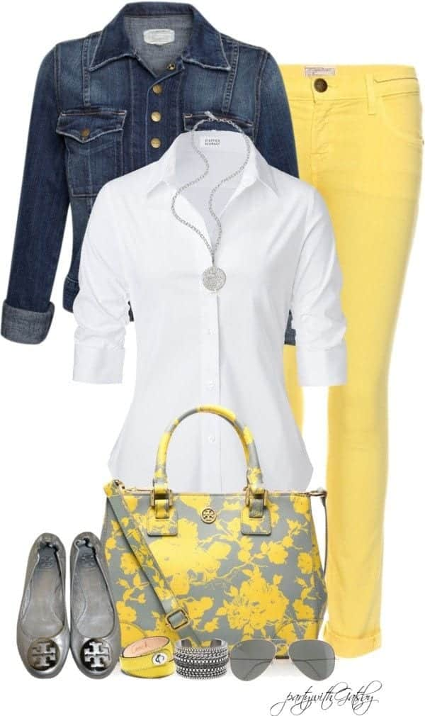 women outfit with white shirt16