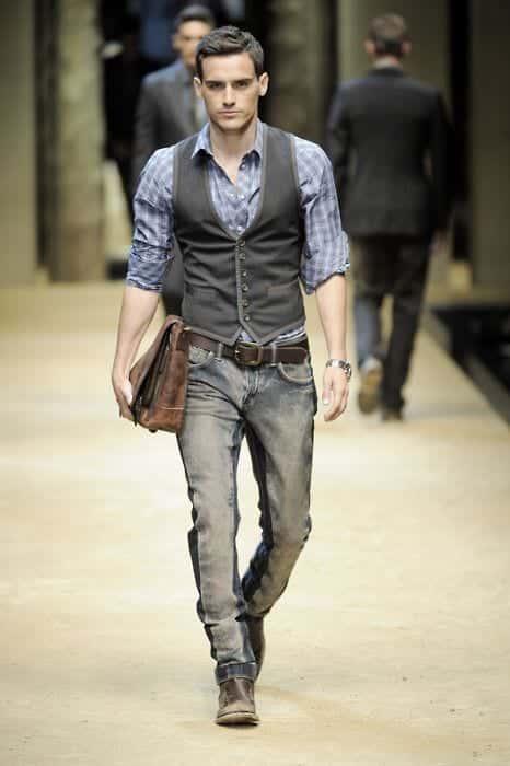 Men Waistcoat Styles-18 Ways to Wear Waistcoat for Classy Look