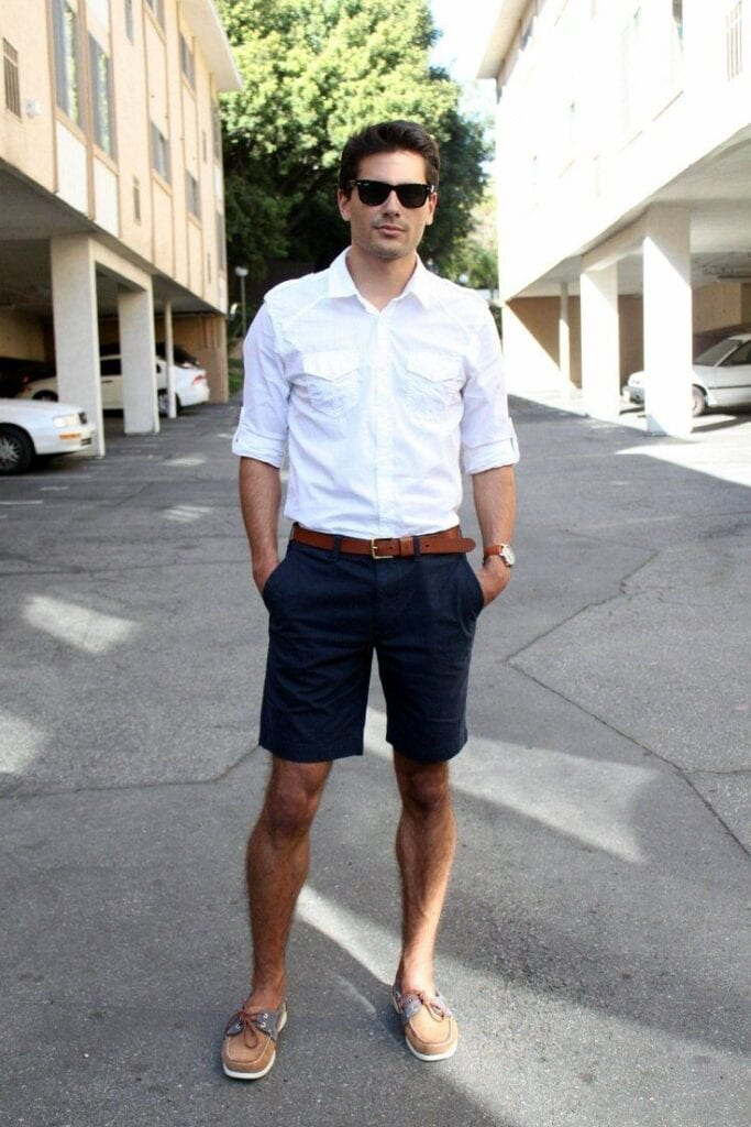 White Shirt Outfits for Men (5)