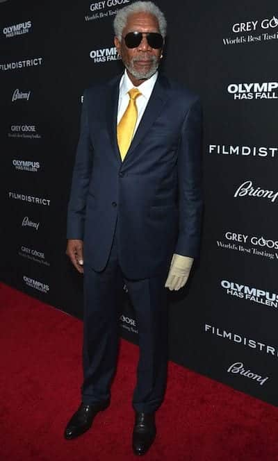 Morgan Freeman style