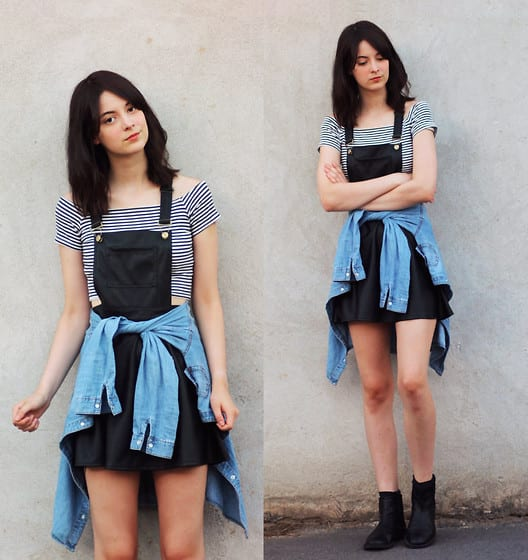 Dungaree Outfits Ideas (9)