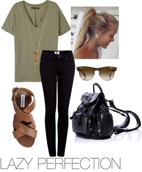 lazy day fashion ideas