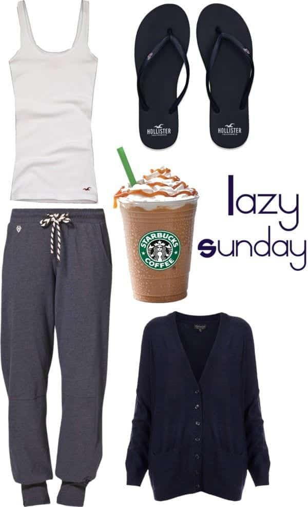 what to wear for lazy day