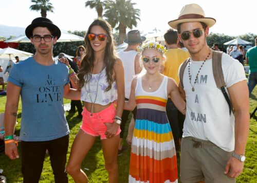 FIJI Water At Lacoste L!VE Coachella Desert Pool Party - Day 1