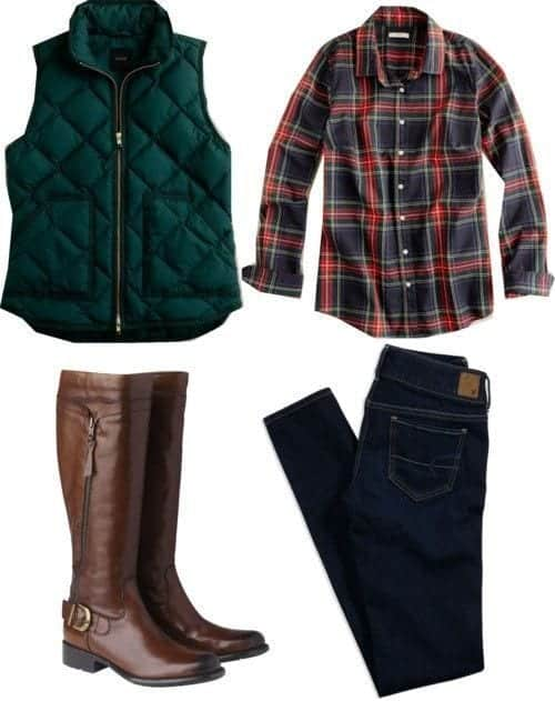 15 winter preppy outfit ideas for women 1