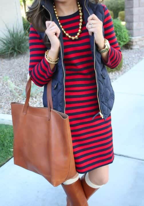 15 winter preppy outfit ideas for women 11