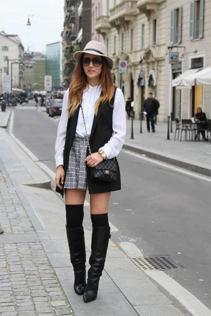 44f22062423 Preppy Winter Outfits-15 Cute Winter Preppy Dressing Ideas