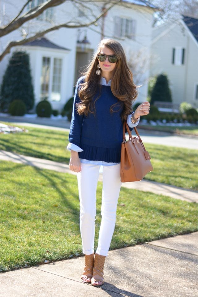 exceptional preppy sweater outfits