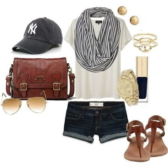 Baseball game Outfits for girls 16