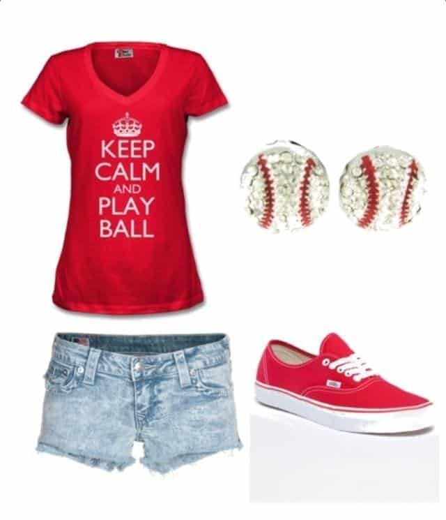 Baseball game Outfits for girls 04