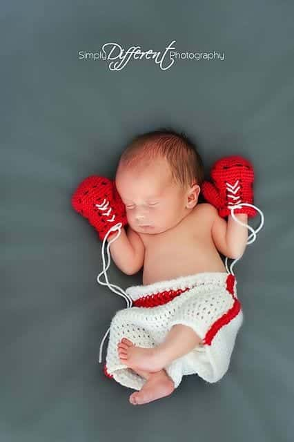 The Combination Of White And Red Looks Perfect On Newborn Babies Outfit Can Be Used For Both S Boys Pattern Is Also Simple Enough You