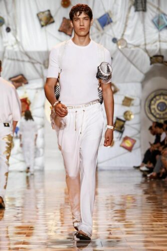 Versace, Menswear, Spring Summer, 2015, Fashion Show in Milan