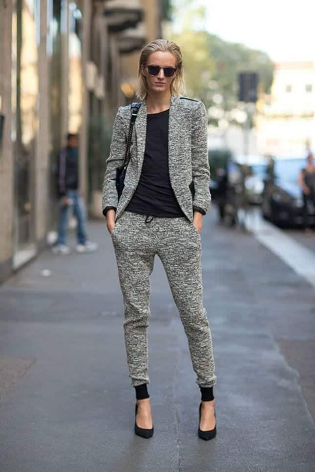 5d3cafb51adc Girls Sweatpants Outfits - 20 Chic Ways to Wear Sweatpants