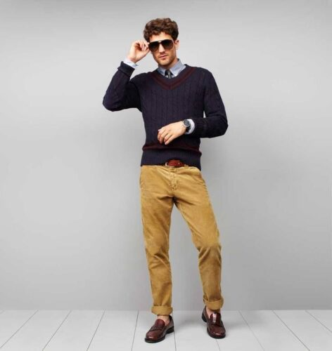 What Shoes To Wear With Red Corduroy Pants