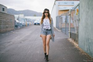 Outfits with Boyfriend Shorts (17)