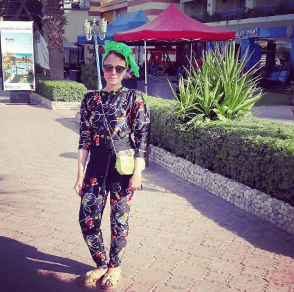 hijab outfits for beach
