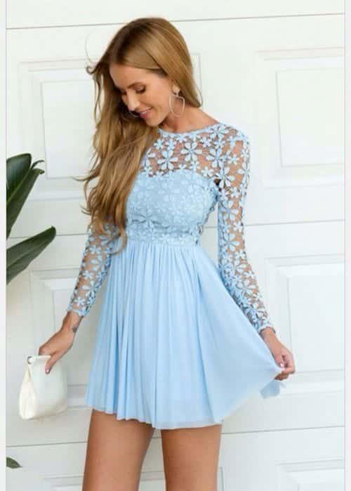 Blue Summer Wedding Dresses Best Dresses 2019