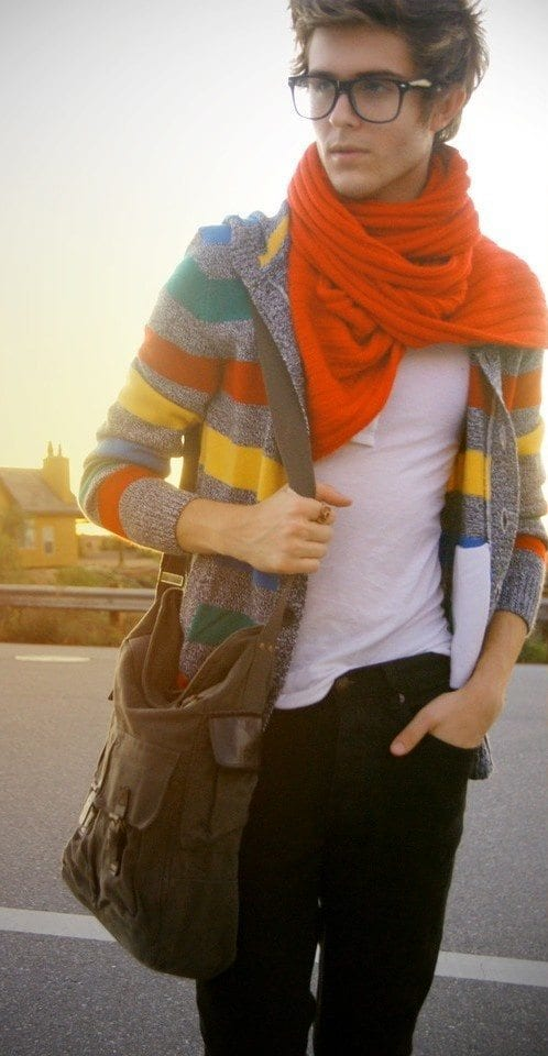 Mens College Fashion Fall