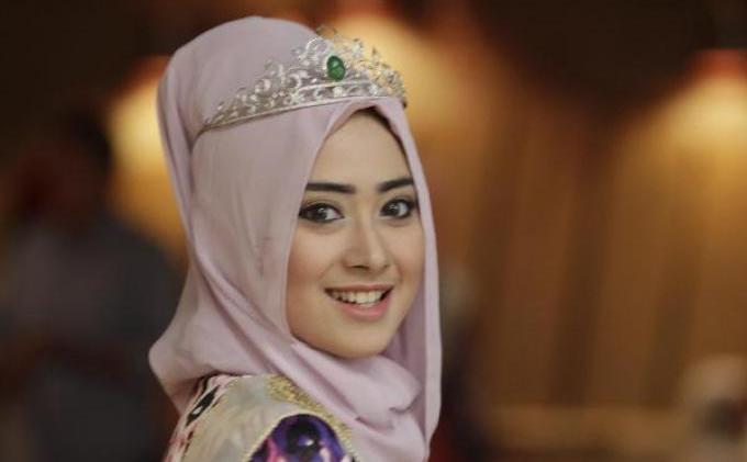 most beautiful muslim girls 5