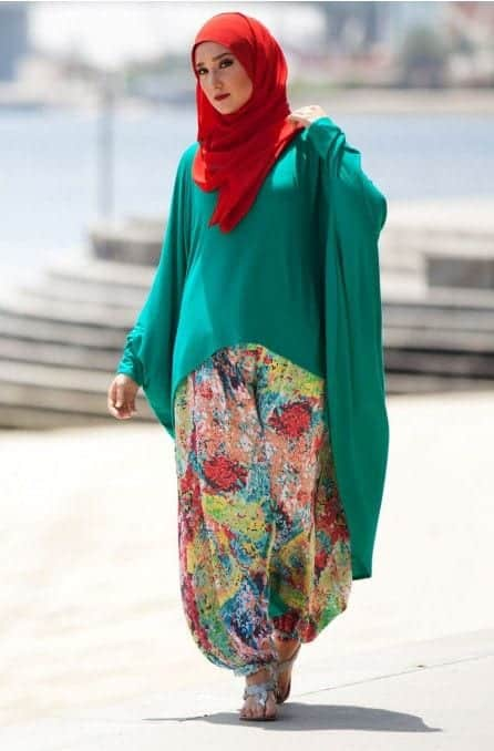 Jilbab fashion ideas for women (14)