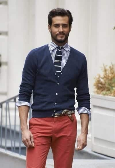 Male Check Shirt Style 5