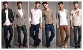 Mens College Fashion Fall