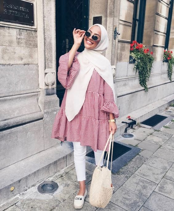 hijab outfits for short people