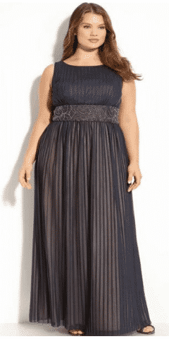 elegant-dresses-for-plus-size-bridesmaid