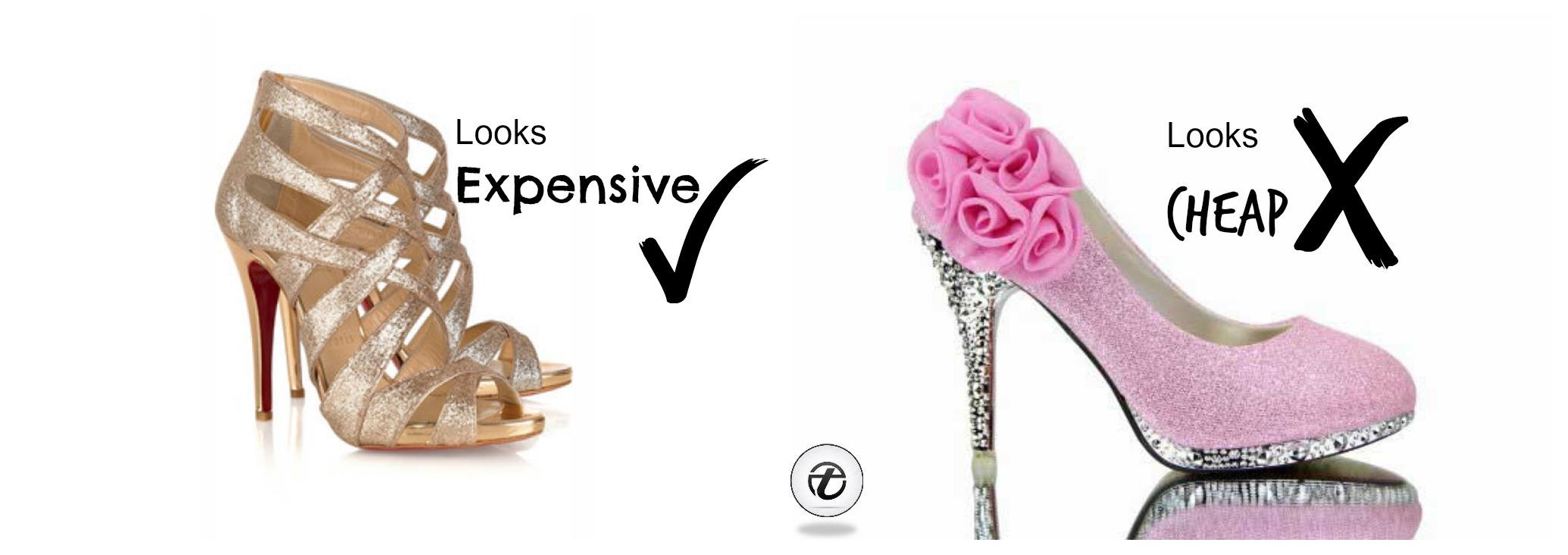 make your outfit look expensive