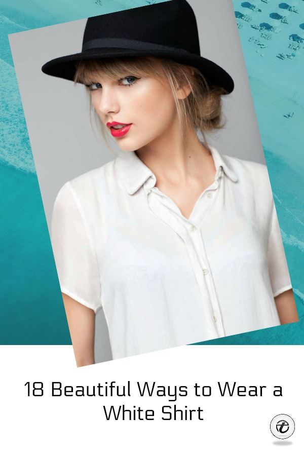 white shirt outfits for women