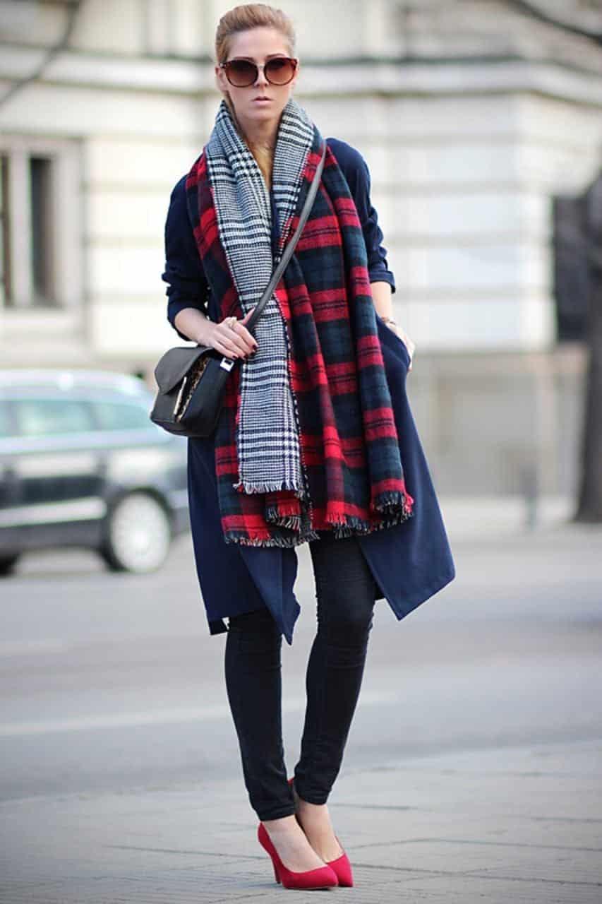 Tartan Outfits For Women -18 Ways To Wear Tartan Fashionably