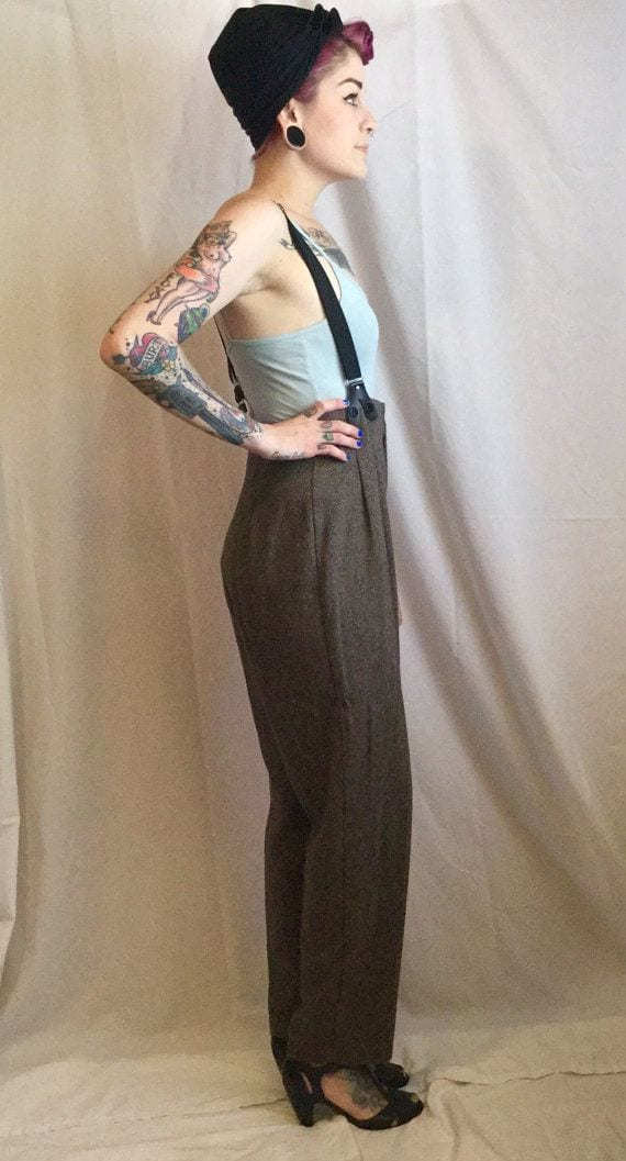 1c3ebdd1d  11 – Vintage Style. You need to add these vintage style high waisted pants  ...