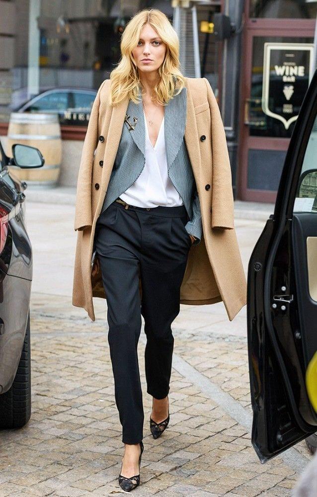 ideas to wear camel coats (14)