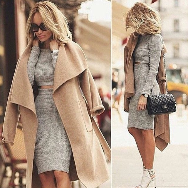 How To Style Camel Coats 18 Cute Outfits With Camel Coat