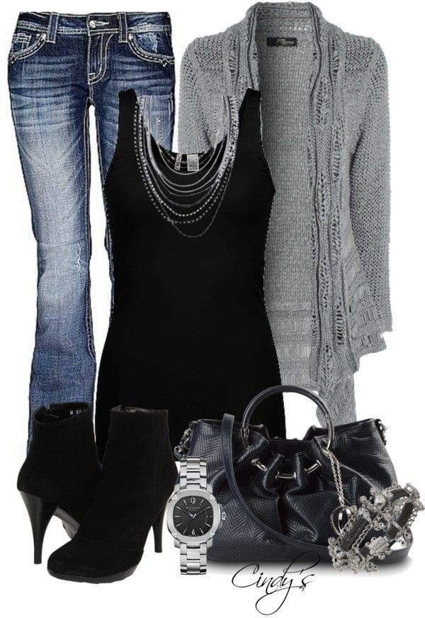 Winter Polyvore Combinations(12)