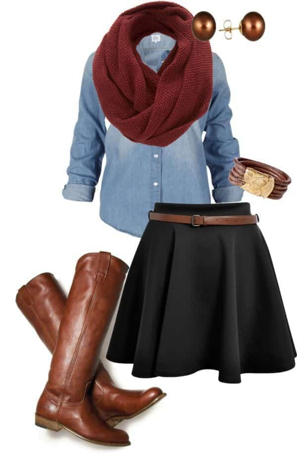 Winter Polyvore Combinations(15)
